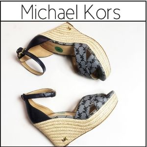 🆕️ MICHAEL KORS Signature Espradrille Sandals!